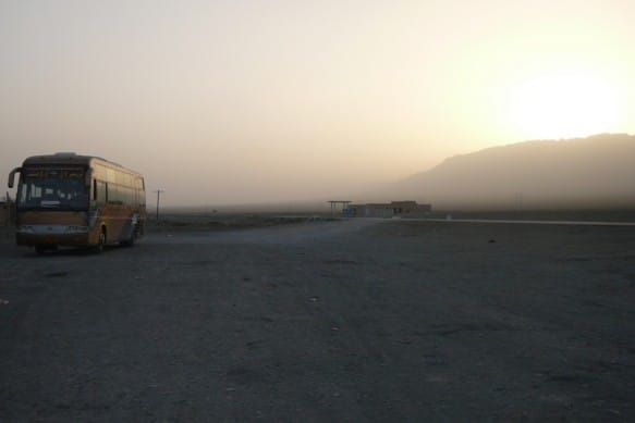 Sleeper bus is a great way to experience Xinjiang budget travel