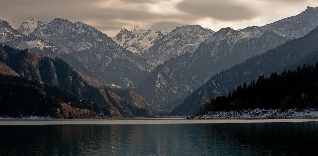 Heavenly Lake (a.k.a. Tian Chi) in Xinjiang, China