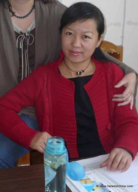 A Chinese English teacher named Heidi