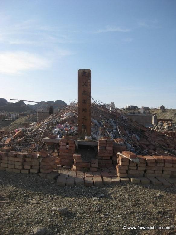 Uyghur tomb in Xinjiang