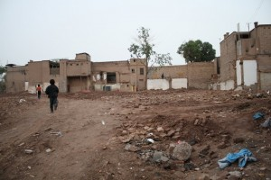 Kashgar's Old City under demolition by the Chinese government