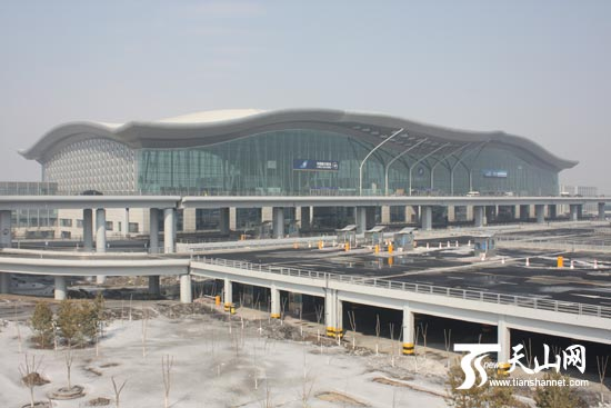 The new Urumqi airport (Terminal 3)
