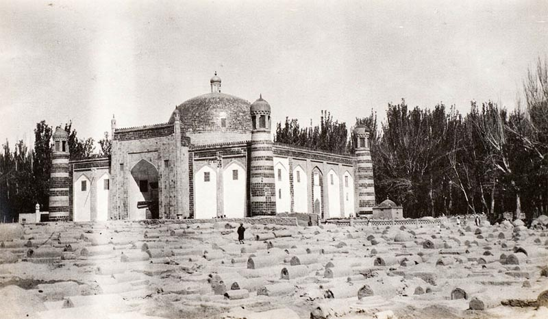 Apak Hoja Mausoleum historical picture in 1910