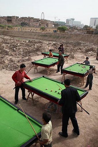 Billiards in Kashgar: Picture of the Week
