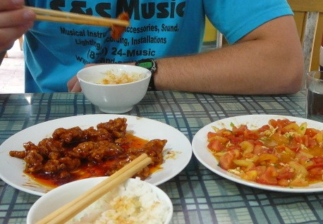 Teaching English in China: 5 Things I Wish I Knew Before Coming. #3 - eating REAL Chinese food!