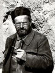 German archeologist Albert von le Coq