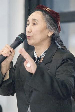 Uyghur activist Rabiya Kadeer