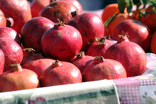 Pomegranates are one of Xinjiang's most famous fruits