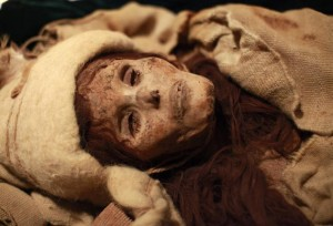 The Beauty of Xiaohe, a Xinjiang Mummy