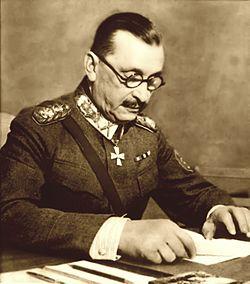 A photograph of Baron Mannerheim in 1940