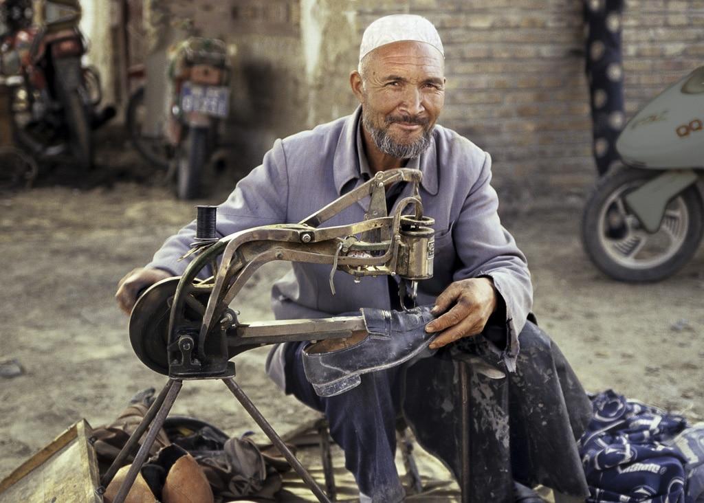 Xinjiang Shoe Repair: Pic of the Week