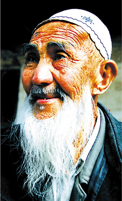Sadiq Sawut, China's oldest man, lives in Xinjiang