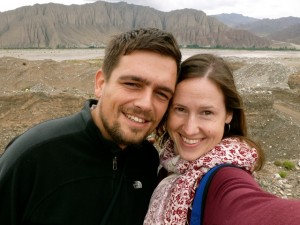 Jenny and her boyfriend during their trip to Xinjiang, China