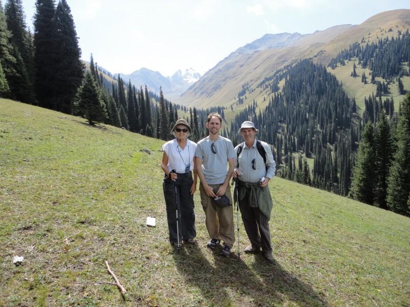 Hiking in Xinjiang, China