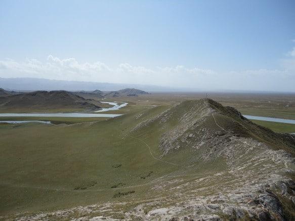 The Bayanbulak Grasslands in Xinjiang, China