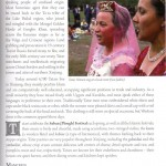 Description of Xinjiang's ethnic groups in Odyssey's Travel Guide