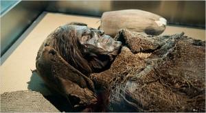 The Beauty of Loulan Mummy in Urumqi's Xinjiang Museum