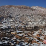 Turpan's Tuyok Village in winter
