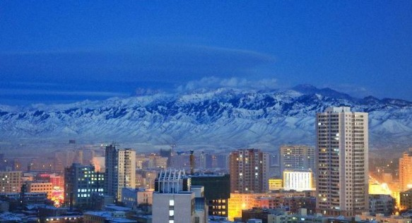 Urumqi in Winter 2012