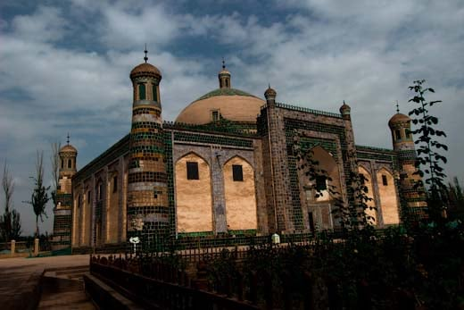 The historic Apak Khoja Mausoleum in Kashgar, Xinjiang