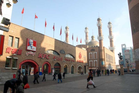 Urumqi's International Grand Bazaar complex