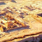 Turpan's ancient Gaochang Ruins in Xinjiang on the Silk Road