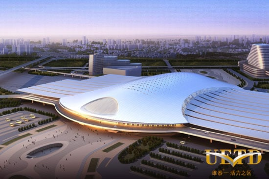 Urumqi's new High Speed train station