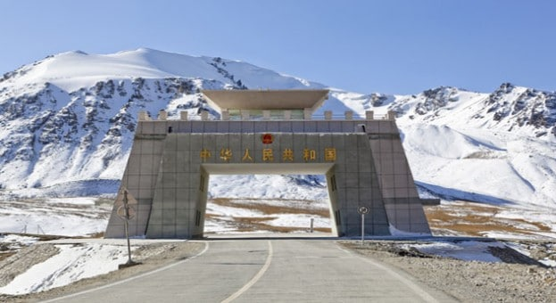 Border Crossing for Khunjerab Pass near Tashkurgan, Xinjiang