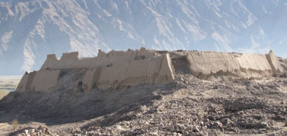 Tashkurgan's Stone Fort in Xinjiang, China