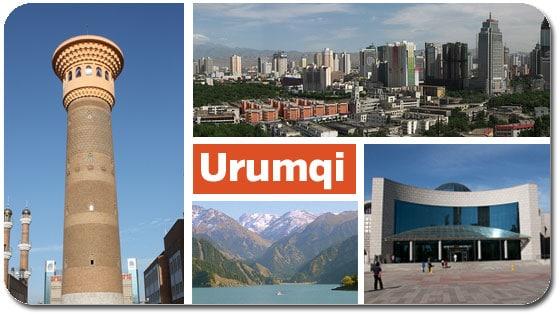 Urumqi Travel City Guide Maps Hotels and Urumqi China
