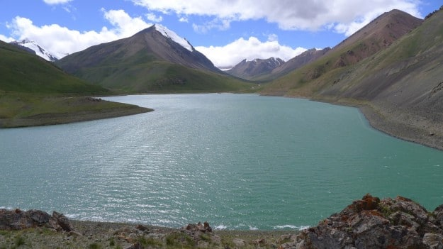 Emerald Lake in Xinjiang's TianShan