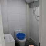 Bathroom at the MaiTian Youth Hostel