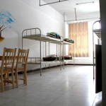 Dorm room at the Tashkorgan K2 Youth Hostel in Xinjiang