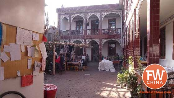 Kashgar Old Town Youth Hostel in Xinjiang, China