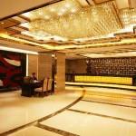 Lobby of the Lucky Chance Hotel in Urumqi Xinjiang