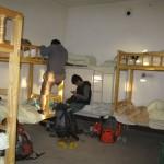 8-bed dorm at the Old Town Hostel in Kashgar, Xinjiang