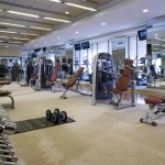 Fitness Center at the Urumqi Sheraton Hotel in Xinjiang, China