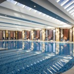 Swimming Pool at the Urumqi Sheraton Hotel in Xinjiang, China