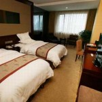 Another standard room in the Lucky Chance Hotel, Urumqi Xinjiang
