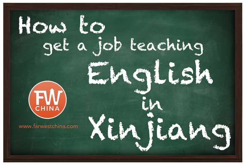 How to teach English in Xinjiang, China in 2019