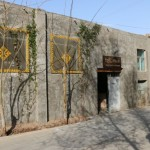 Another outside view of the Turpan White Camel Youth Hostel
