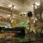 Lobby of the Yindu Hotel in Urumqi, Xinjiang