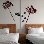 Twin room at the Tashkorgan K2 Youth Hostel in Xinjiang
