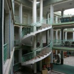 View of the hostel-like portion of the Chini Bagh Hotel in Kashgar, Xinjiang