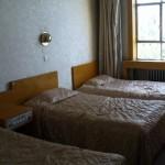 Cheap dorm room at the Chini Bagh Hotel in Kashgar, Xinjiang