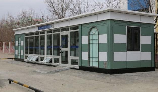 A new, beautiful public toilet in Karamay, Xinjiang