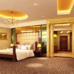 Deluxe room at the Urumqi International Trade Grand Hotel