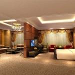 Presidential Suite at the Urumqi International Trade Grand Hotel