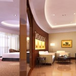 A suite at the International Trade Grand Hotel in Urumqi
