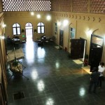 The common area of the Turpan Silk Road Lodge - The Vines in Xinjiang